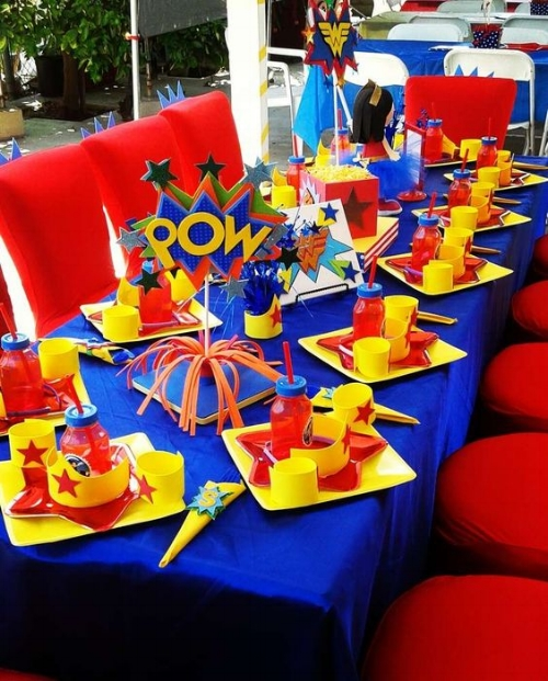 wonder woman table