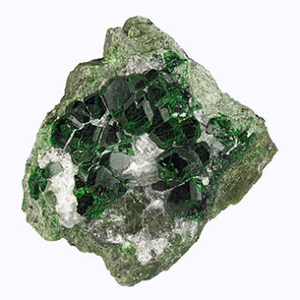"URAROVITE: Most often appearing as emerald green and 'cluster-like"" in nature, Uvarovite is also known as green garnet Russian druzy and has the ability to link one's soul to it's universal purpose and nature. It also is a strong stone in promoting prosperity and wealth by opening the channels and our capacity to receive. Emotionally, uvarovite can increase our sense of self-worth and decrease our feelings of scarcity or lack. This is especially important during times of a break-up with a loved one, be it an intimate partner or close friend or family member and is here to remind us we are not alone, rather, we are part of the universal code and web of all things eternal and interconnected within nature. This stone is one of our favorites not only because it is visually stunning, but also because the uvarovite we use is such high quality and feels so incredible when worn. It is a feeling that is difficult to express in words. You might just have to try it yourself."