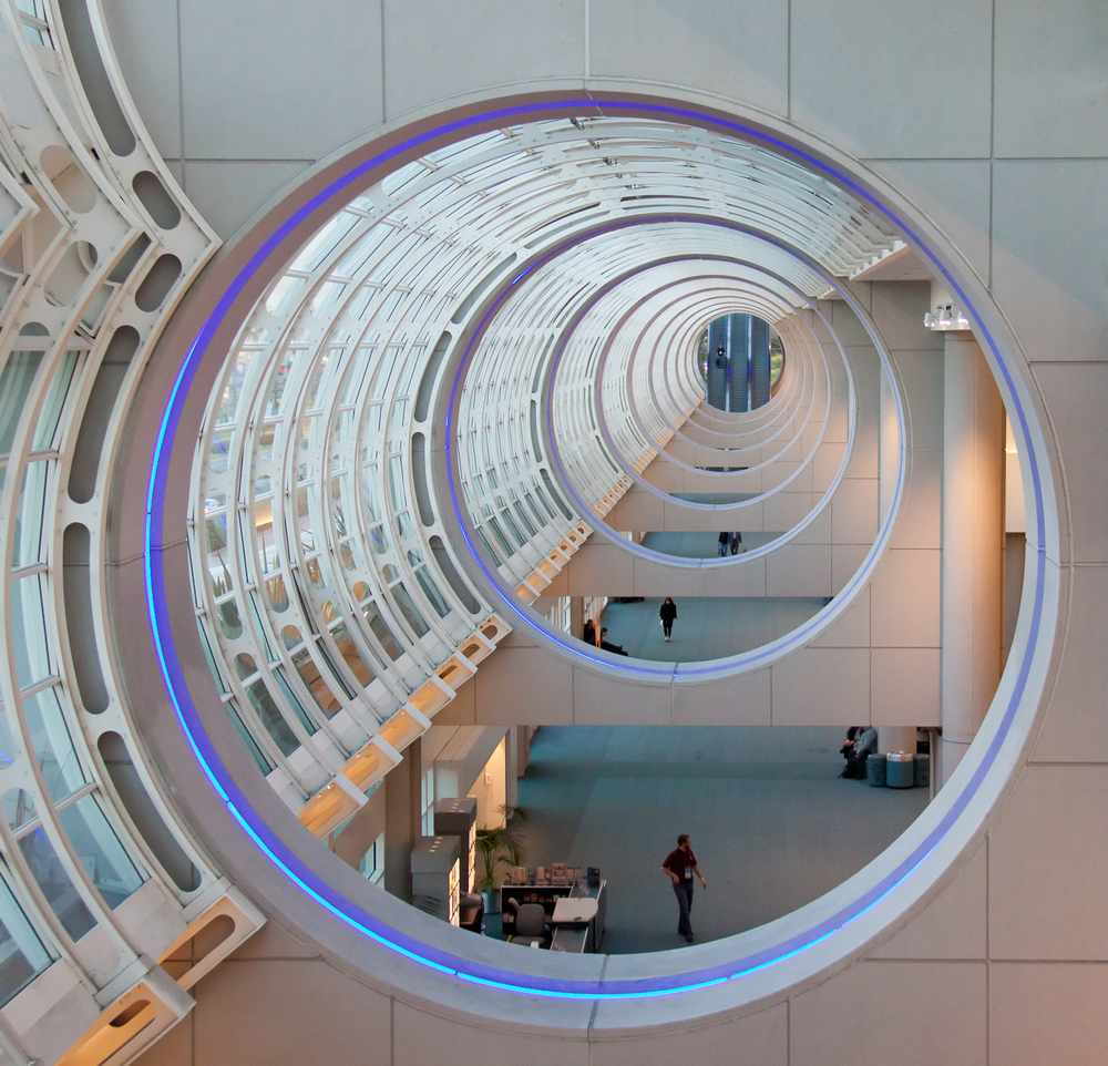 Wormhole in the San Diego Convention Center