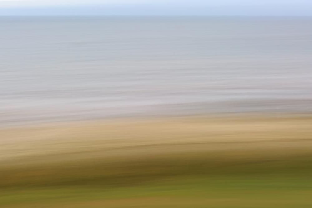 Grass, Sand, Water, Sky