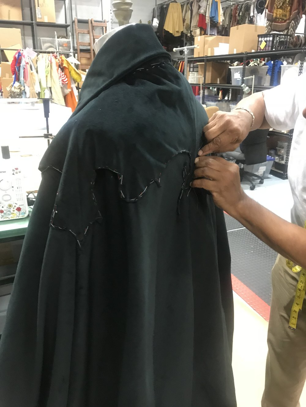 """Casual Cape"" Construction"