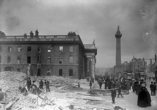 Dublin, Easter Rising 1916