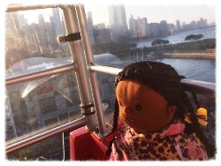 Last old Ferris Wheel Ride at Navy Pier
