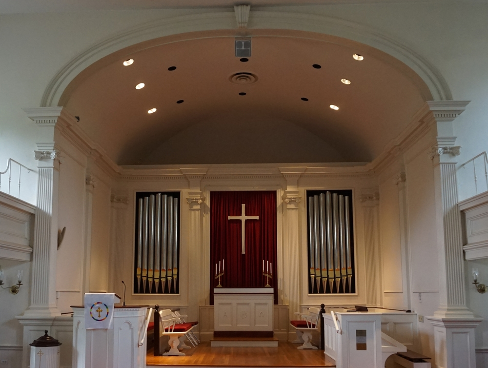 Sanctuary:  Historic First Church , Orange, CT