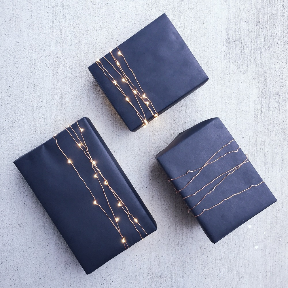 twinkle light gift wrap mrtimothyjames
