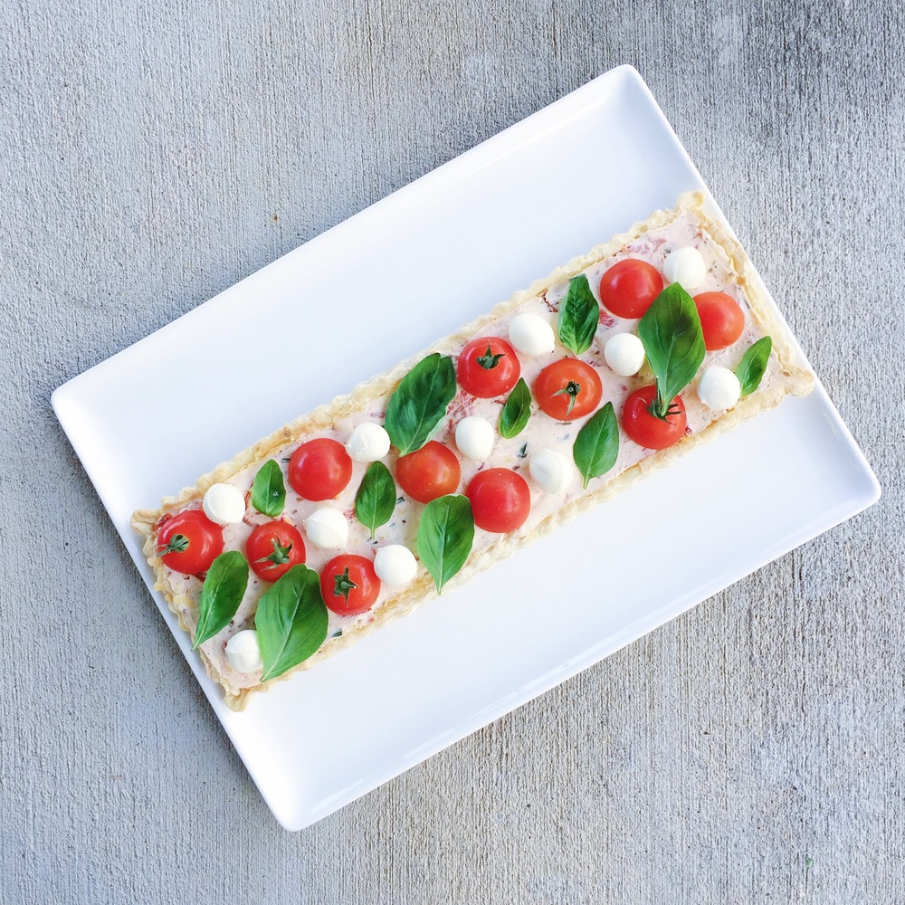 caprese tart | mrtimothyjames | three