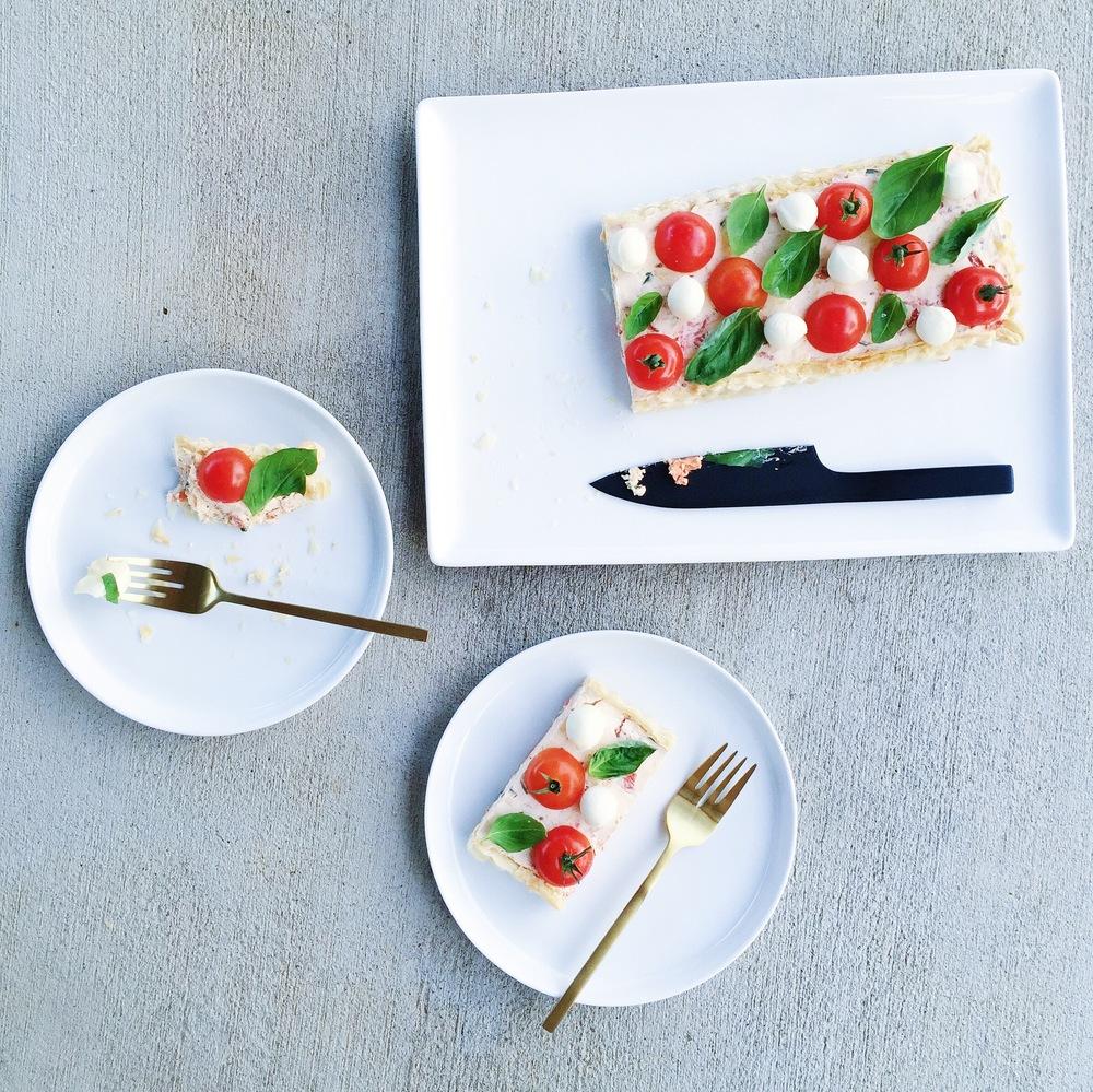 caprese tart | mrtimothyjames | five