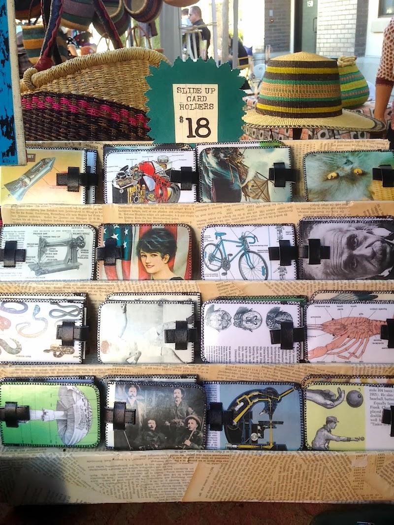 Clever card holders/wallets by Mandalanda.