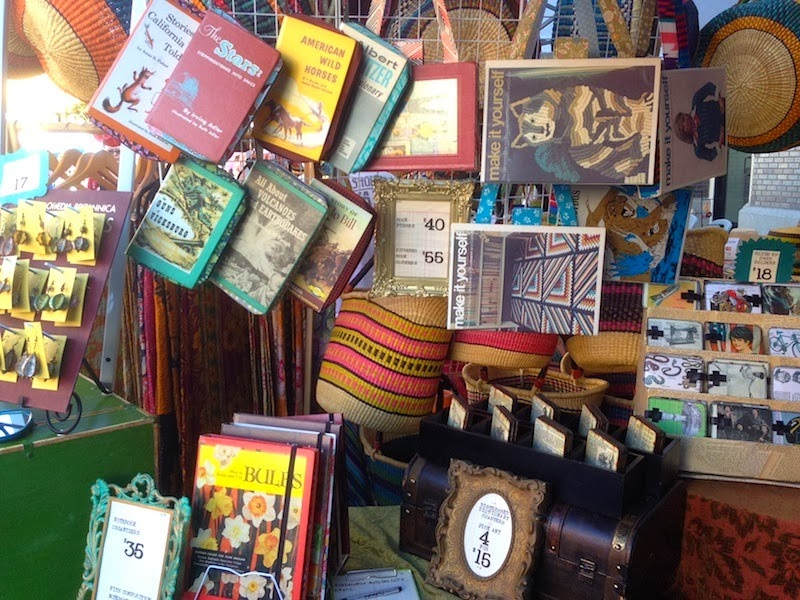 Mandalanda makes bags, wallets, and other accessories from old hardback books!