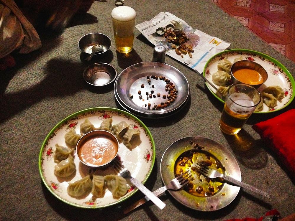 Abendessen bei Ash und Menuka Gurung