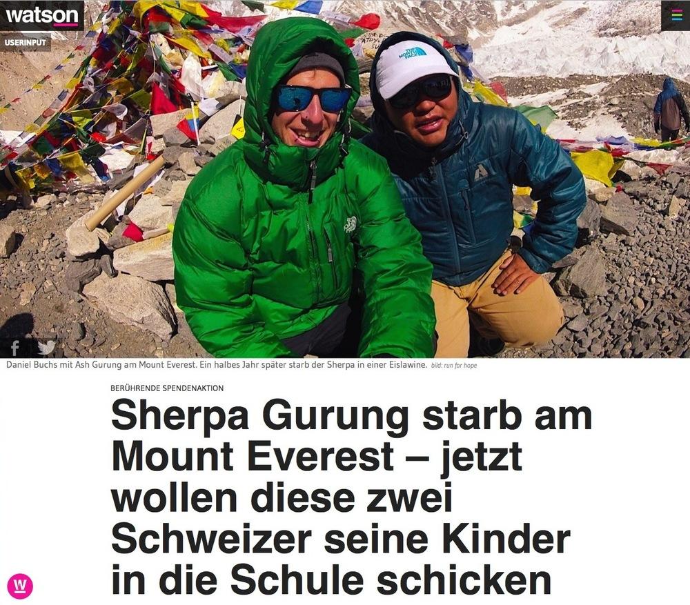 watson - das neue Newsportal der Schweiz 30. Mai 20.14