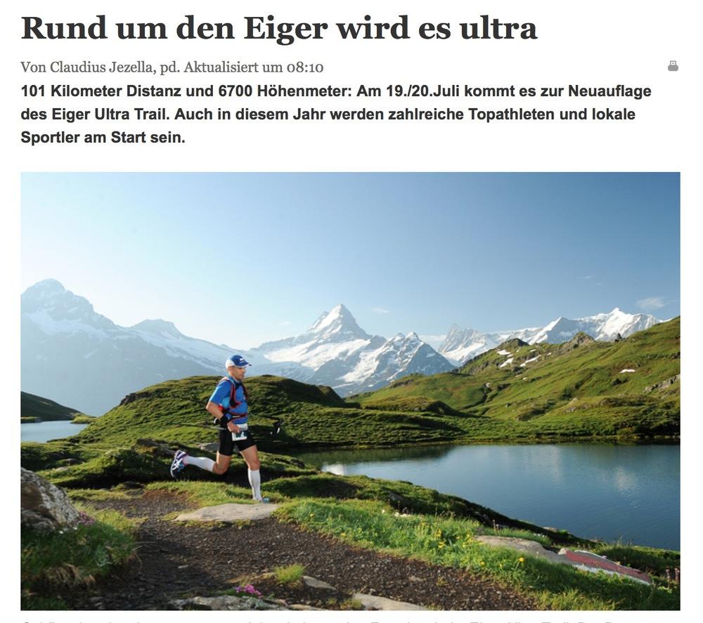BO Berner Oberländer, 15. Juli 2014