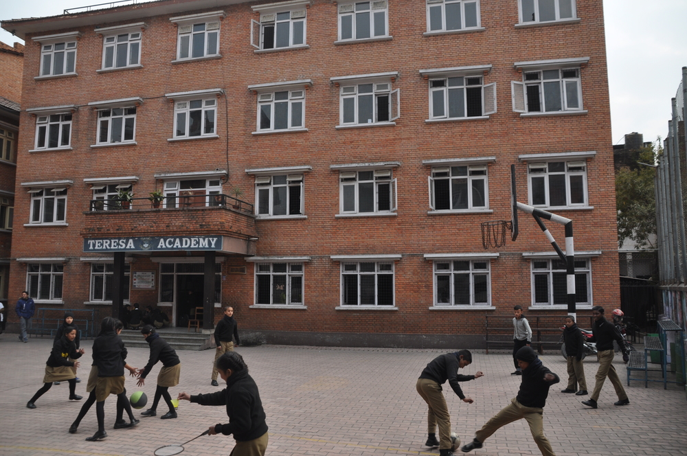Die Teresa Academy in Kathmandu