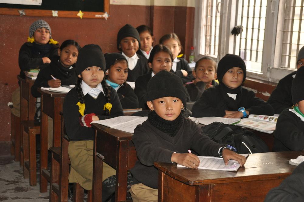Kinder an der Teresa Academy: Opfer von Menschenhandel, Waisen oder aus ärmsten Verhältnissen