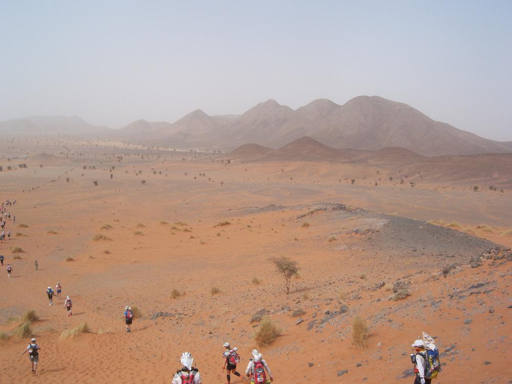 Spektakuläre Kulisse: Marathon Des Sables