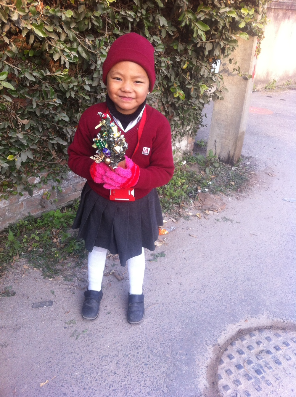 Alisma Gurung in der «Little Angels' School» in Kathmandu.
