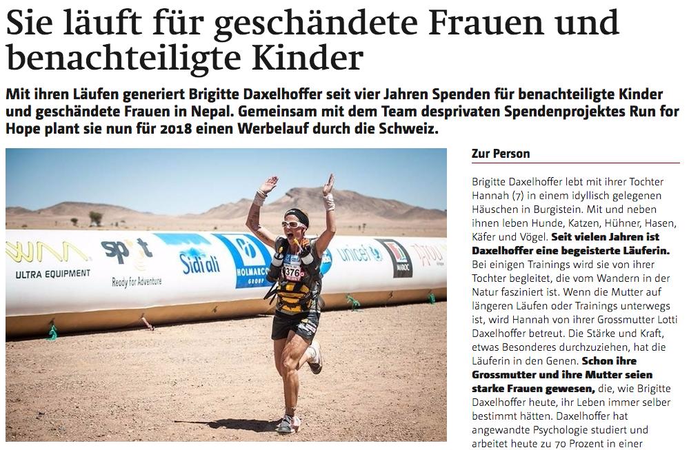 Berner Oberländer, 24. Juli 2017
