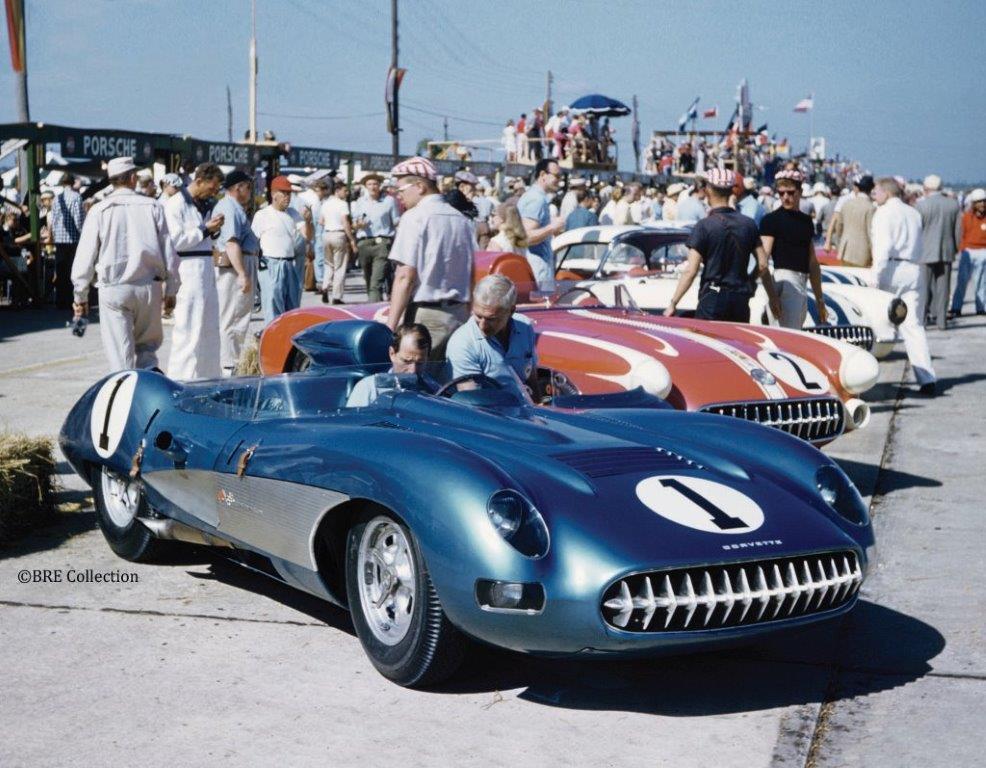 Corvette Race Car Histories Data Sheets for C1-C7