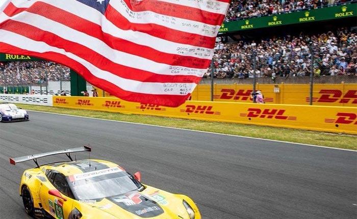 # 63 - 2018 Le Mans Flag via Charlie Robertson.jpg