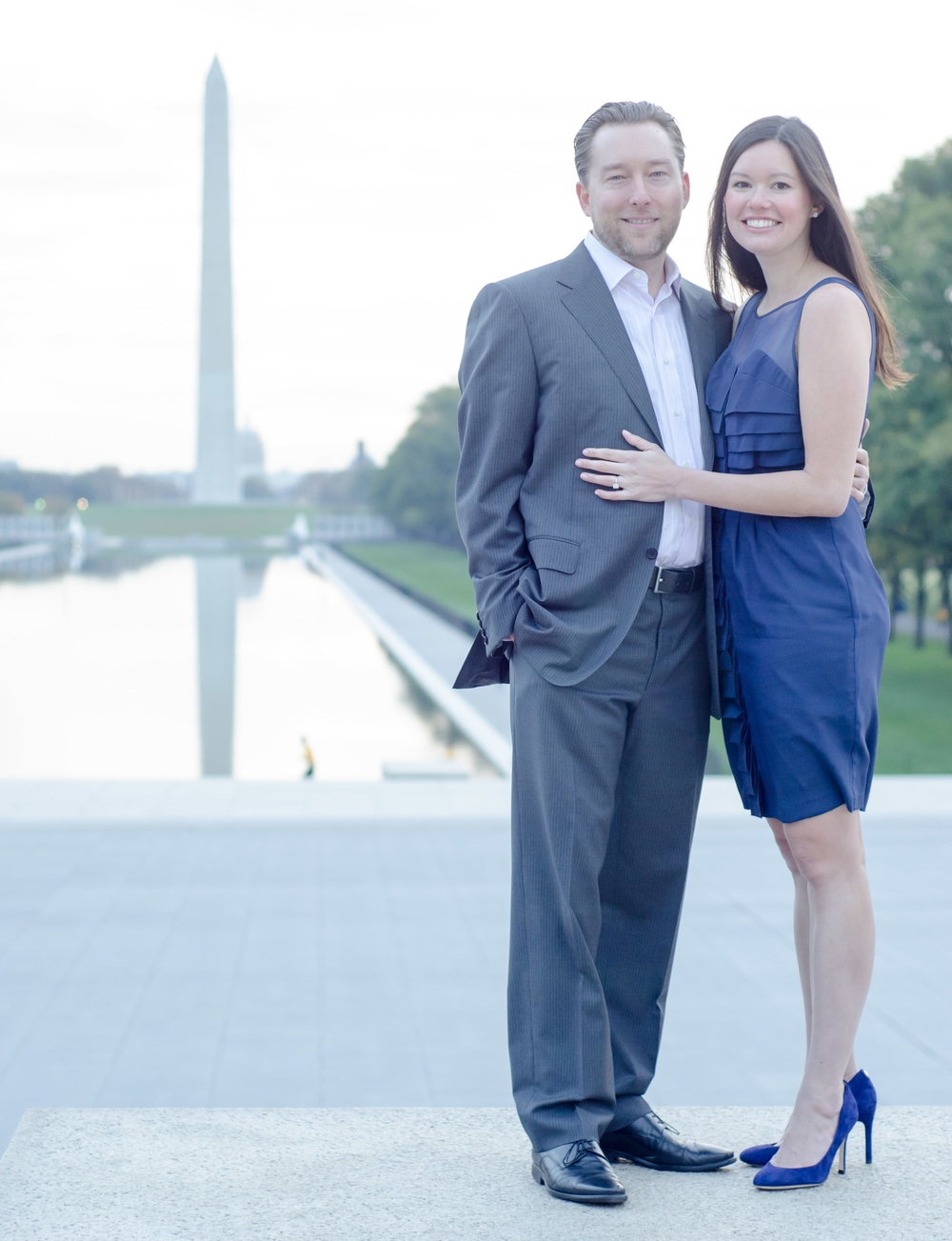 Washington Monument Engagement Shoot - NickMcKetaPhoto.com