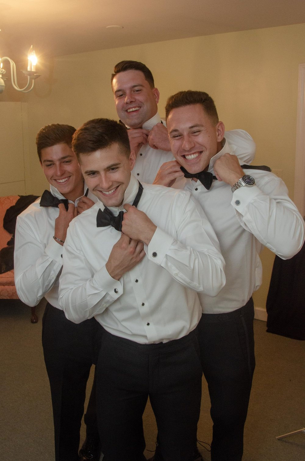Groomsmen - Getting Ready