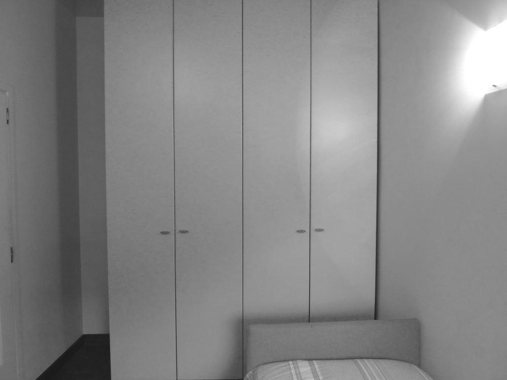 Camera da letto - Prima dell'intervento di ristrutturazione e restyling - Venezia