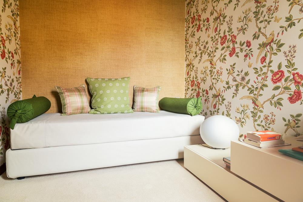 Camera da letto - Dopo l'intervento di ristrutturazione e restyling - Venezia