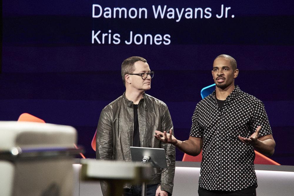 Special Guest App  Founder  Kris Jones  with  Actor Damon Wayans Jr