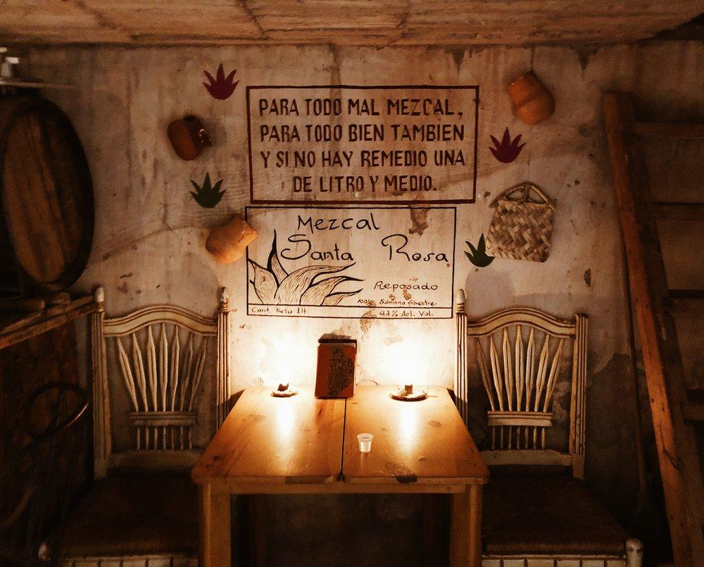 The little bar at Santa Brigida