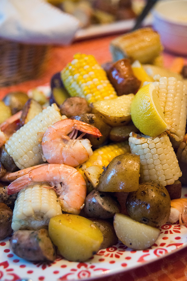 A good old Lowcountry boil...of COURSE!