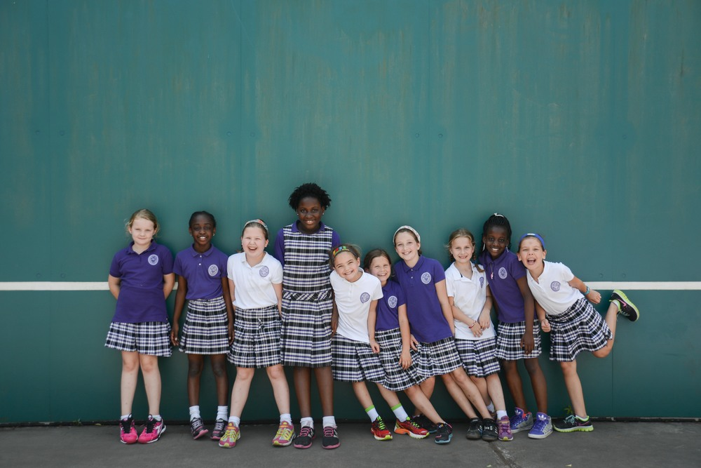 Ashley Hall School, spring magazine shoot