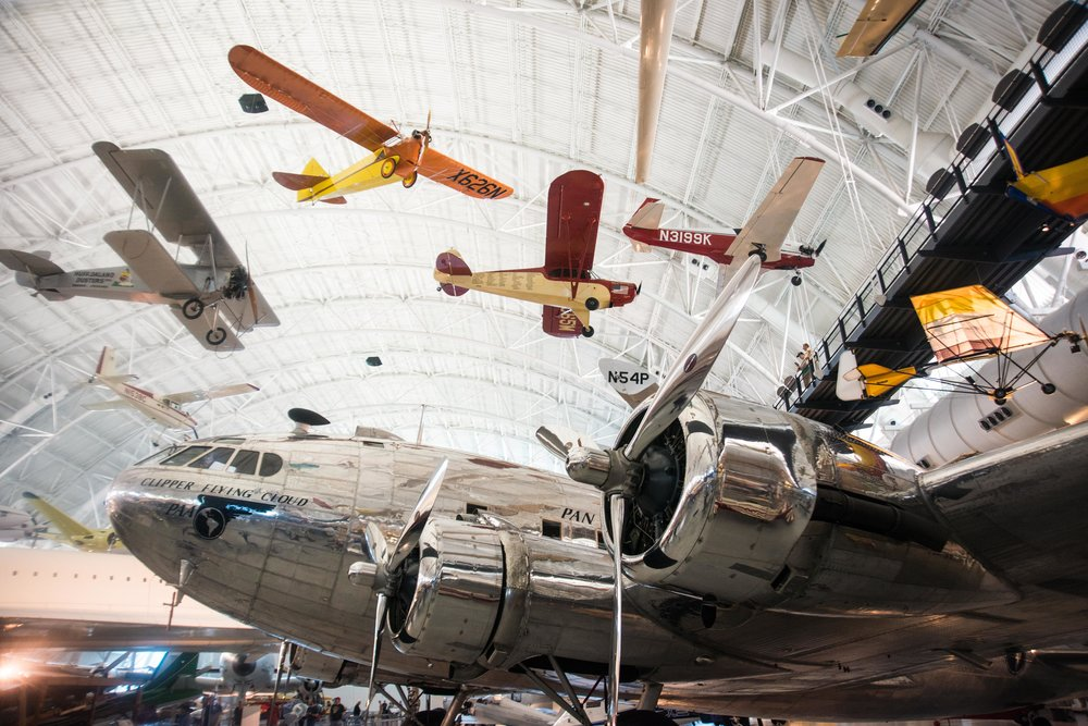 National Air + Space Museum, Udvar-Hazy Annex