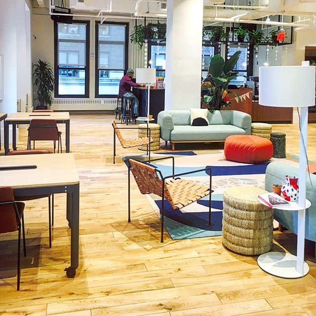 Welcome to our new HQ! #officesvibes #travelpr #wework