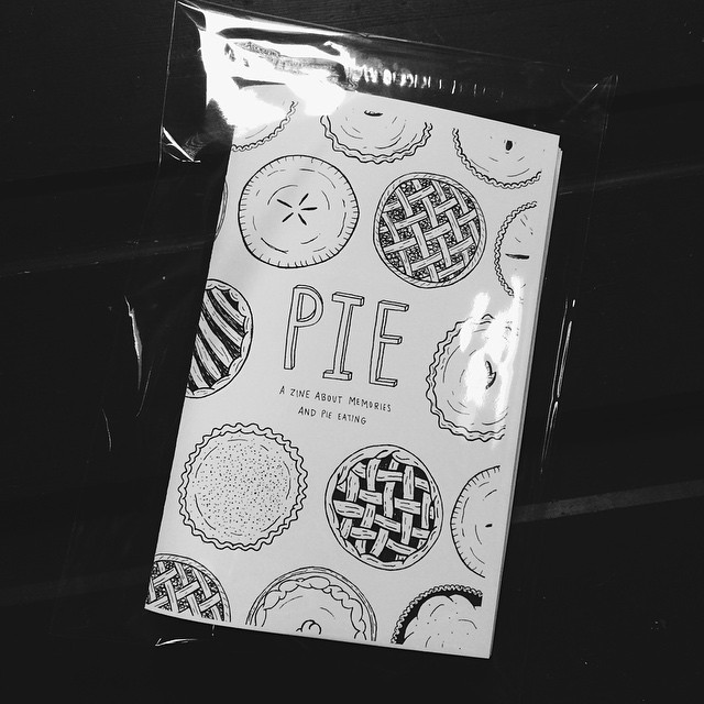 A fews shot of the PIE zine goodness from   Muriel's Instagram .