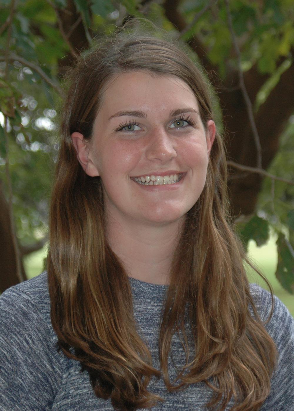 Andreanna Burman   Senior, B.S. in Biology (minor in Chemistry)  Expected Graduation Date: May 2018  Andreanna_Burman@baylor.edu