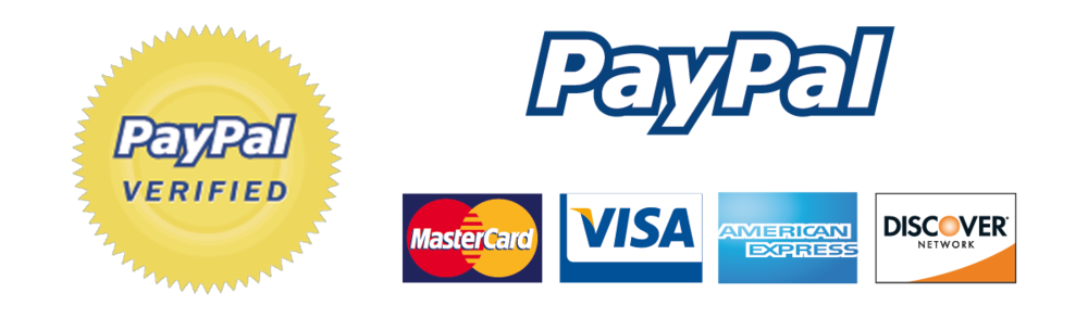 We accept all major credit/debit cards.
