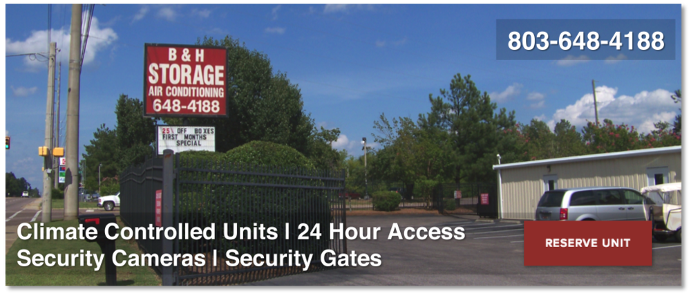 B&H Self-Storage | Climate Controlled, 24 Hour Access, Security Cameras, Security Gates