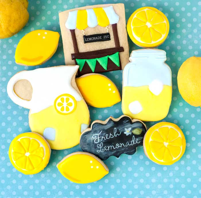 Lemonade Day Cookies