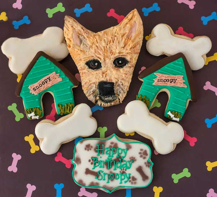 © Happy Birthday Snoopy Cookies