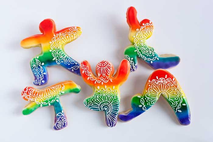 © Rainbow Yogi Cookies