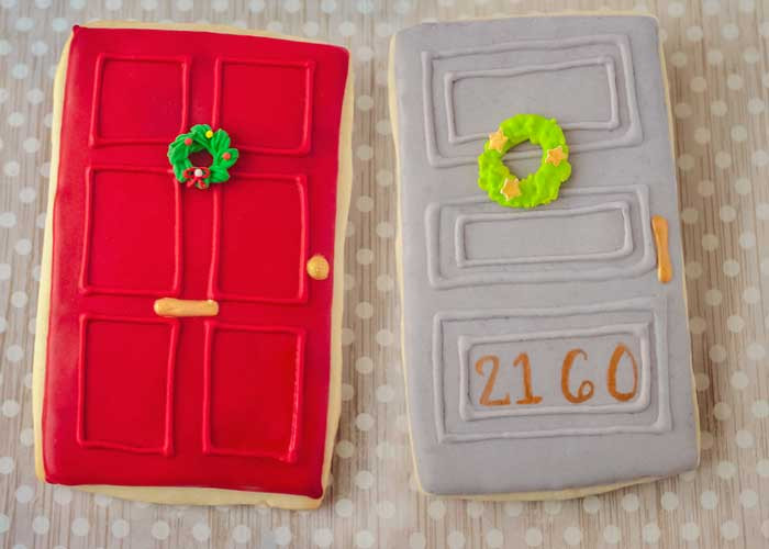 © Christmas Door Cookies