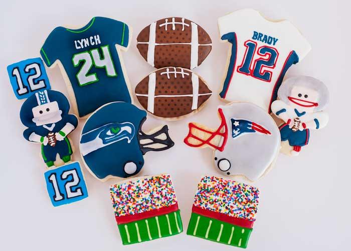 © Super Bowl XLIX Cookies