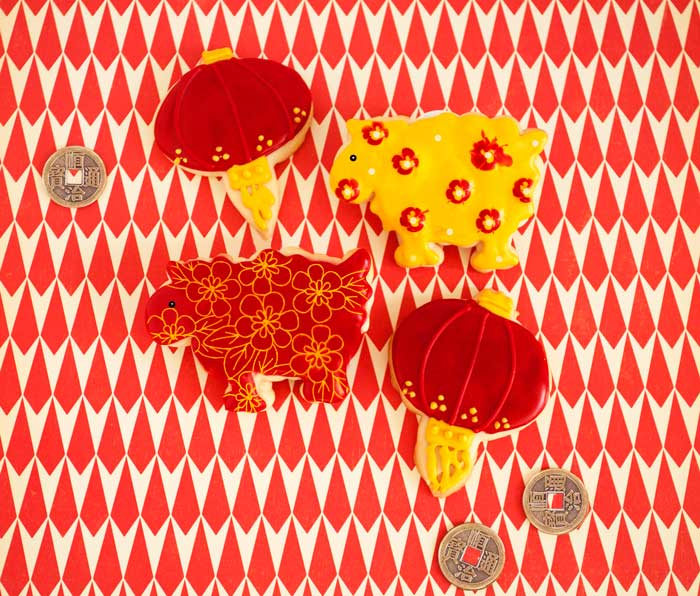 © Chinese New Year Cookies