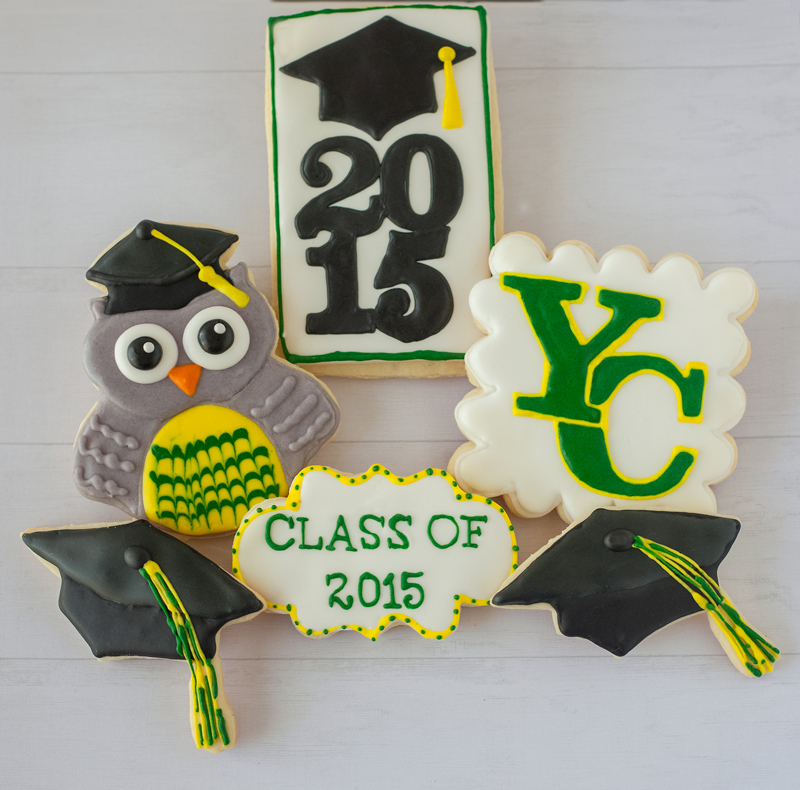 © Yavapai College Graduation Cookies