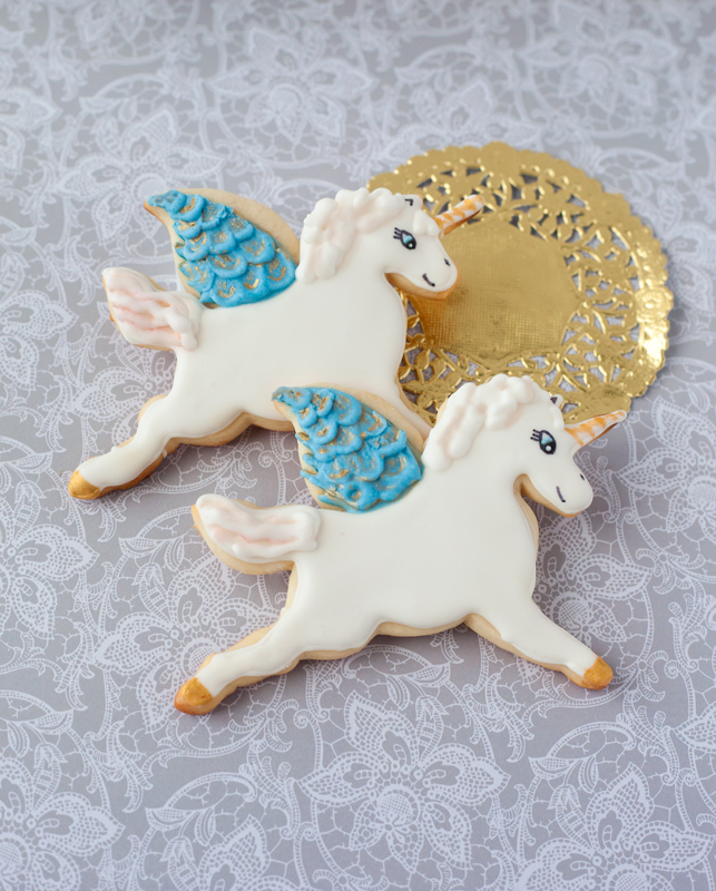 © Winged Unicorn Cookies