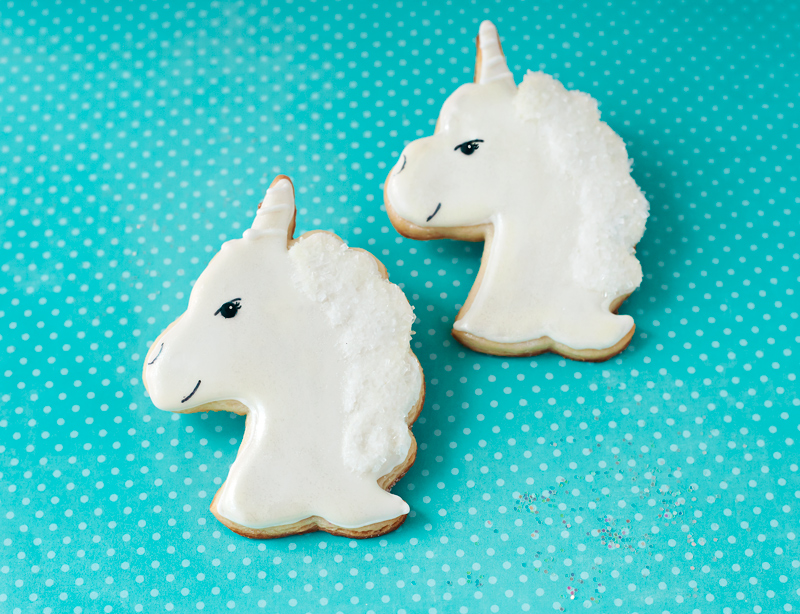 © Traditional Unicorn Cookies