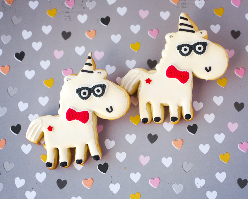 © Hipster Unicorn Cookies