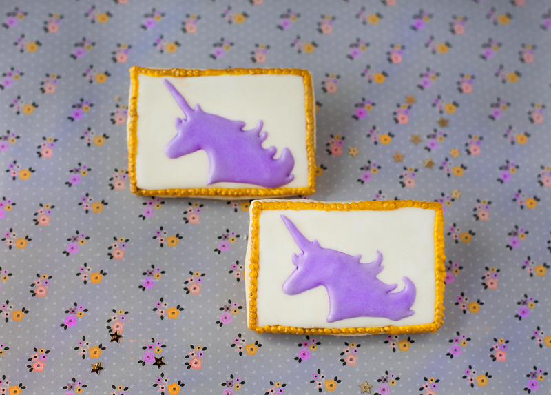 © Silhouette Unicorn Cookies