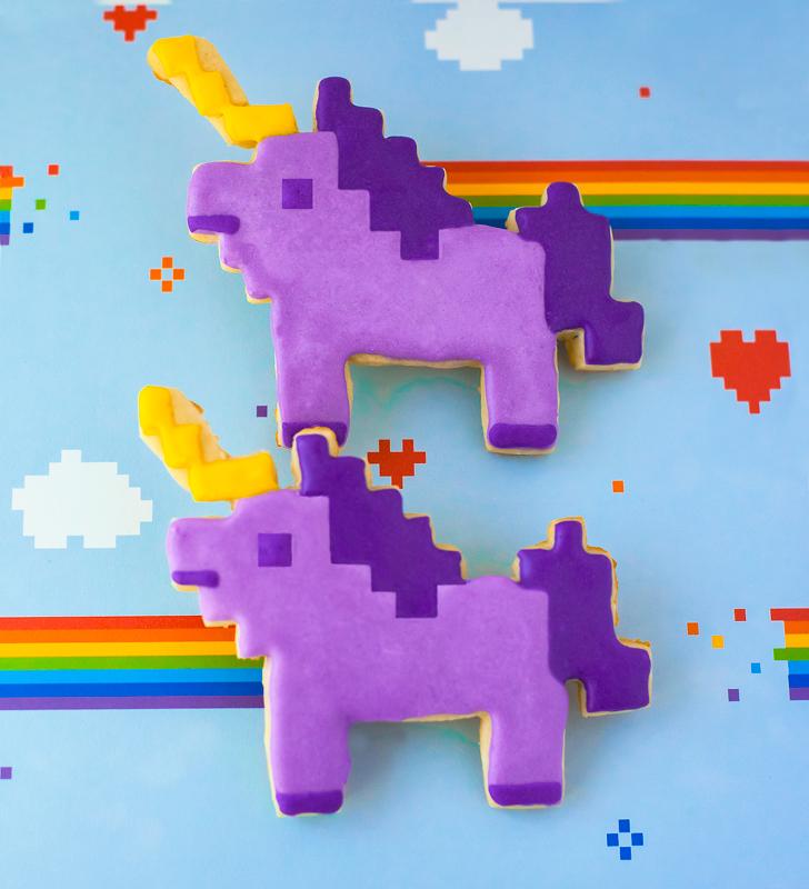 © Pixel Unicorn Cookies