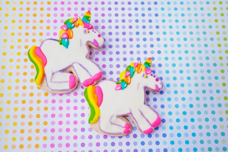 © Lisa Frank Unicorn Cookies